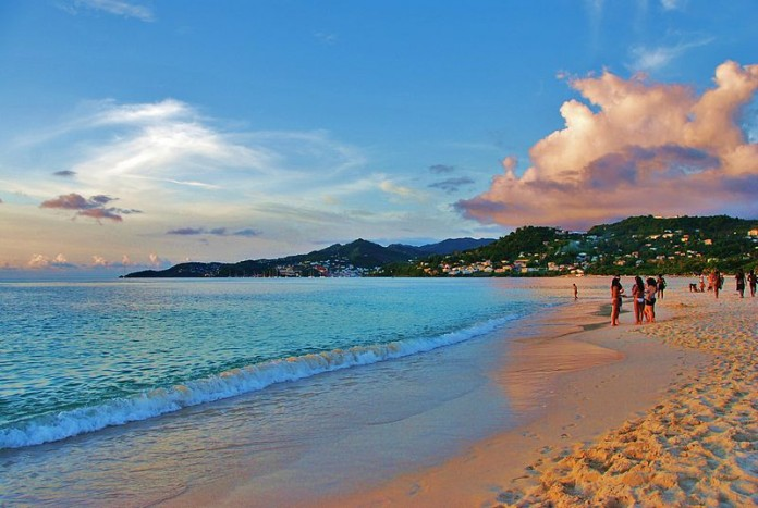 image of Grand Anse Beach Grenada picture credit V.kap at en.wikipedia