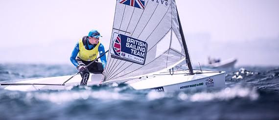 image of Finn dinghy
