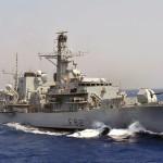 Royal Navy Type 23 Frigate HMS Somerset
