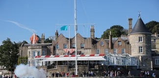image of The Castle, Cowes IOW home of the Royal Yacht Squadron