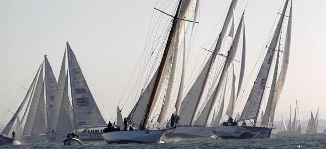 image of Round the Island race start