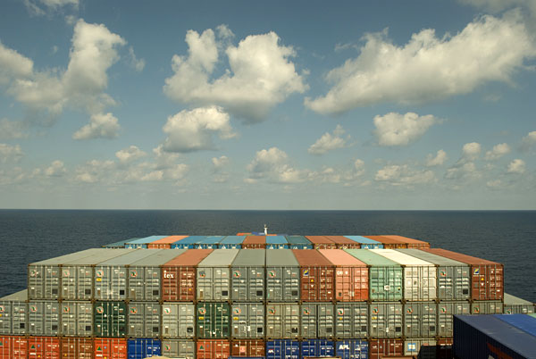 image of container ship