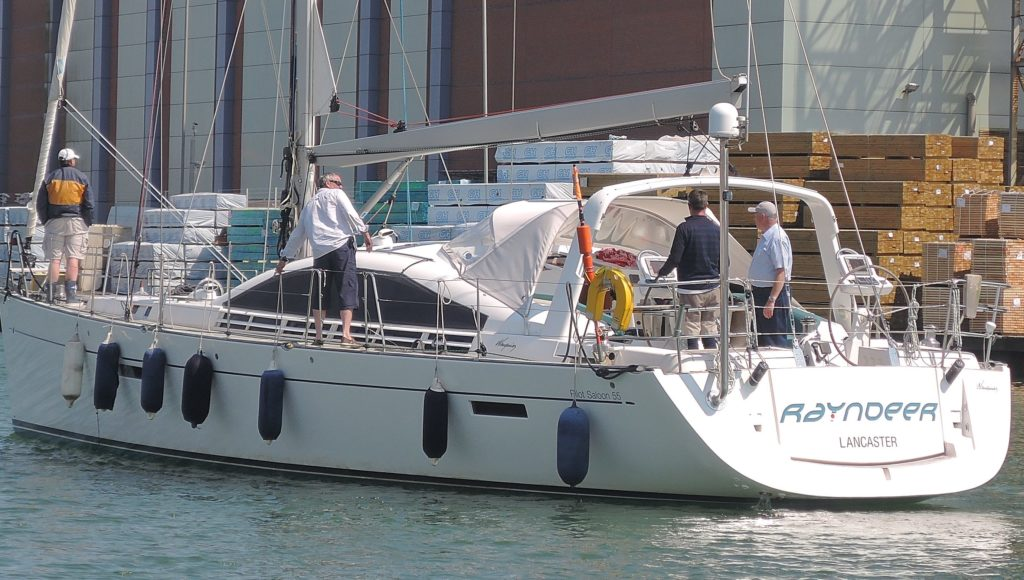 image of Yacht Rayundeer Shoreham Harbour