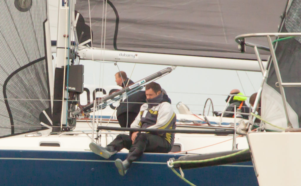 image of Crew member on yacht at start of RER 2016