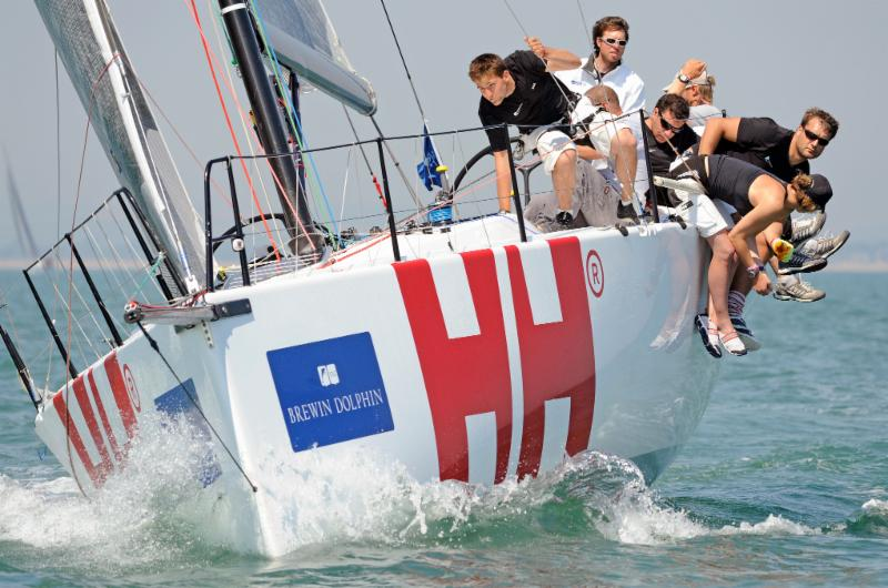 image of Sailmaker Kevin Sproul, is back racing on Keronimo, now Andy Williams' Dan, Israel (Team Israel)
