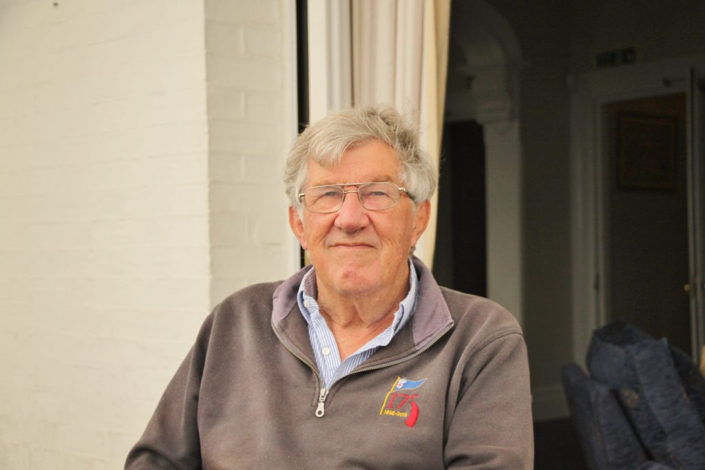image of Peter Taylor MBE commodore of RLYC