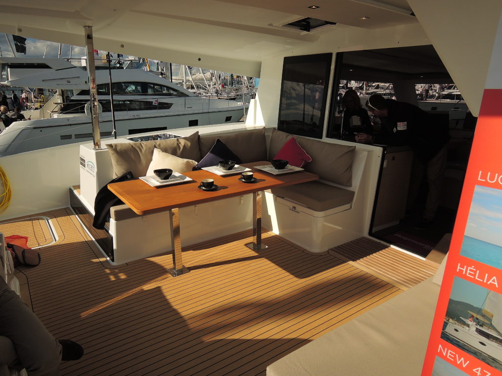 image of Cockpit of Fountaine Pagot Lucia 40