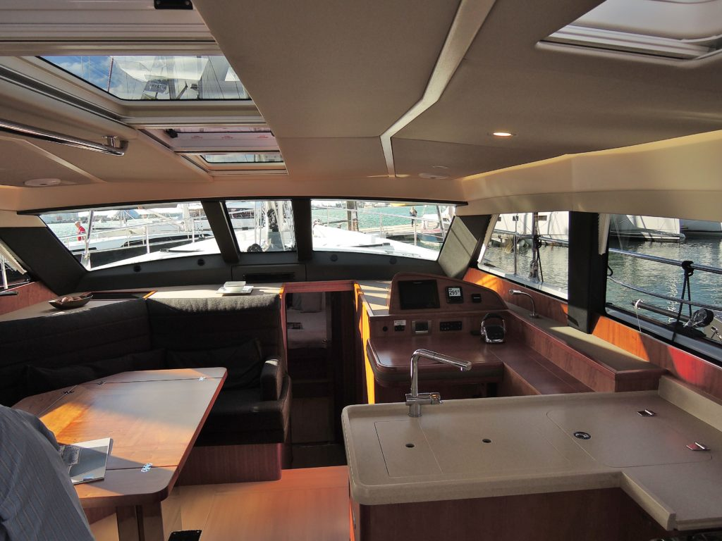 image of Deck cabin of Moody 54