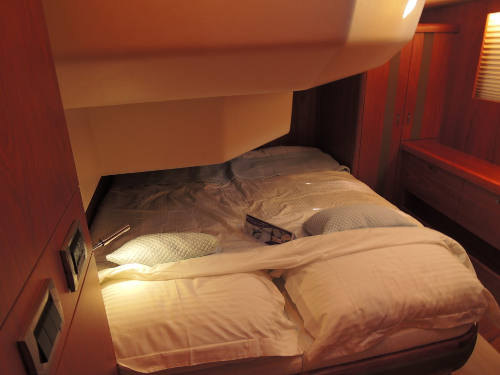 image of Moody 54 port guest cabin