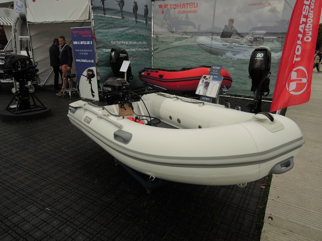image of europa 3.0 aluminium RIB with 20 HP Tohatsu