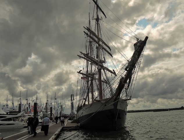 image of Kaskelot at Southampton Boat Show 2017