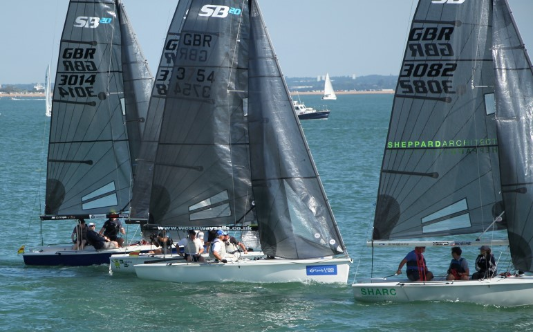 image of Lendy Cowes Week 2018 - Day 6 Boats ready to start