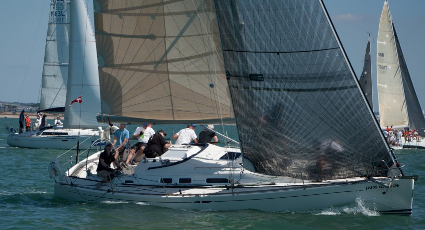 image of Lendy Cowes Week 2018 - Day 6. Sailing on the Solent