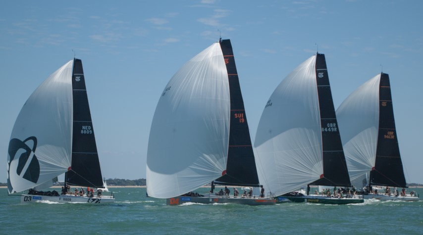 image of Fast 40+ racing at Lendy Cowes Week 2018