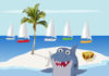 image of Snappy The Shark 2 by William Mills