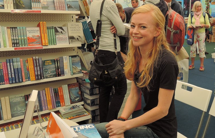 image of Kitiara Pascoe author of In Bed with the Atlantic