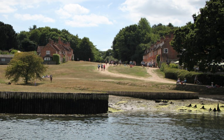 image of Buckler's Hard is a famous historic site where 18th century wooden warship were built