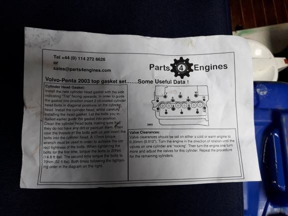 image of The instructions which came with the spare parts were easy to understand and simple to follow