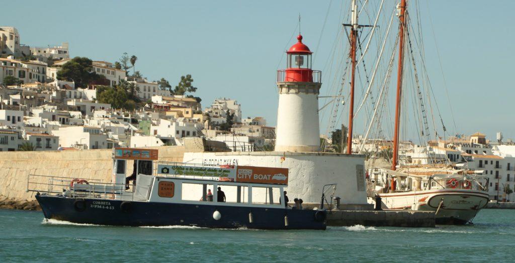 Ibiza water bus