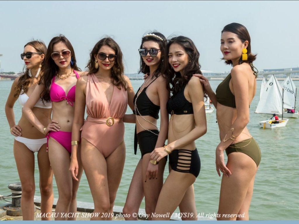 image of Bikini Show at 9th Macau Yacht Show