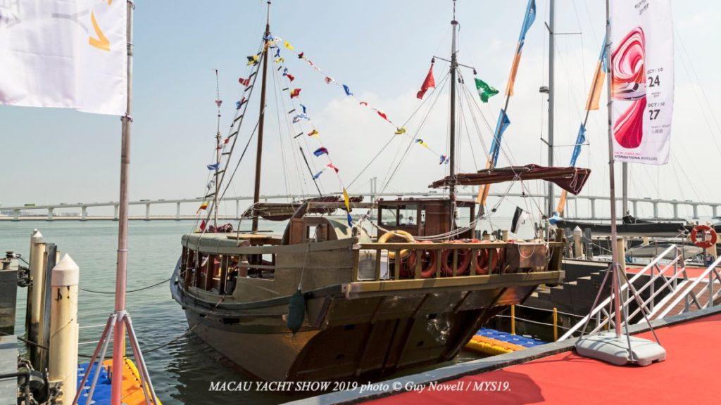 image of traditional craft at 9th Macau Yacht Show