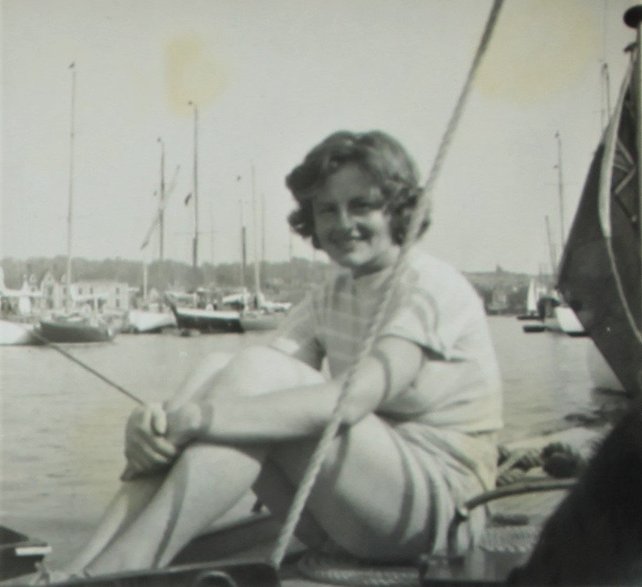 image of Anne Bowater Hamble 1950's