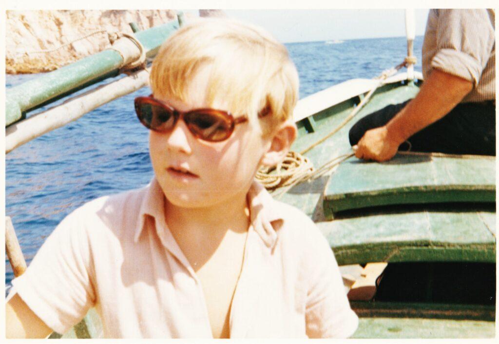 image of William at Tomario Spain 1965 William's Biography