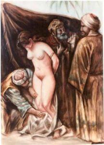 image of slave girl